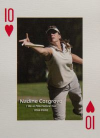 Dude Clothing Playing Cards Ten of Hearts Nadine Cosgrove