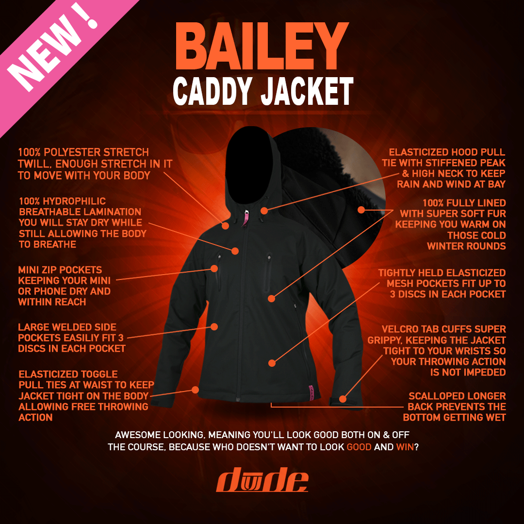 Dude Ladies Bailey Caddy Jacket
