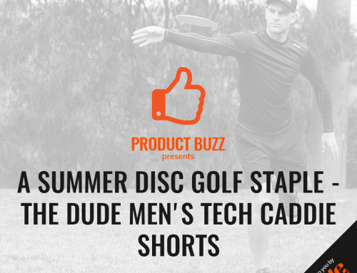 A Summer Disc Golf Staple – The Dude Men's Tech Caddie Shorts