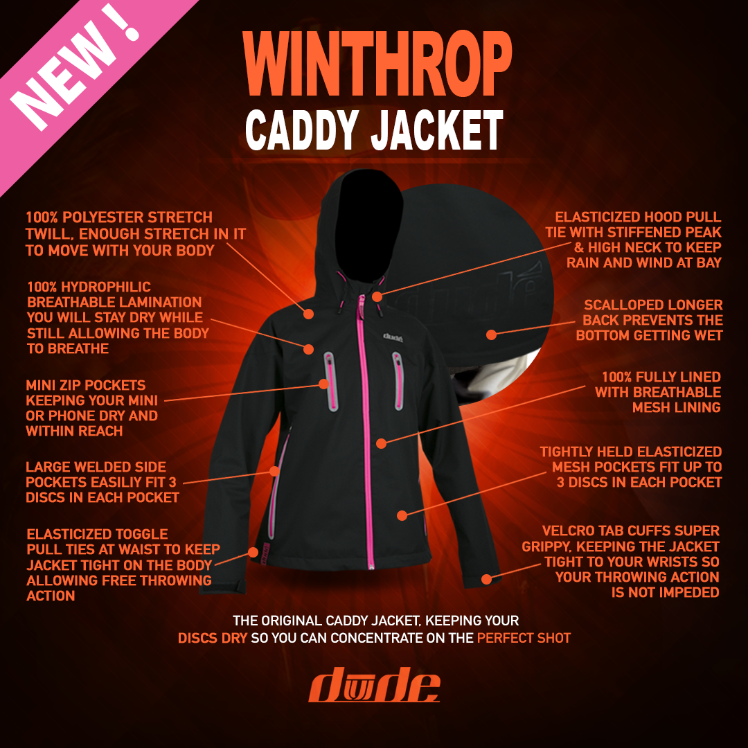 Dude Ladies Winthrop Caddy Jacket