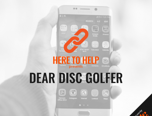 Dear Disc Golfer
