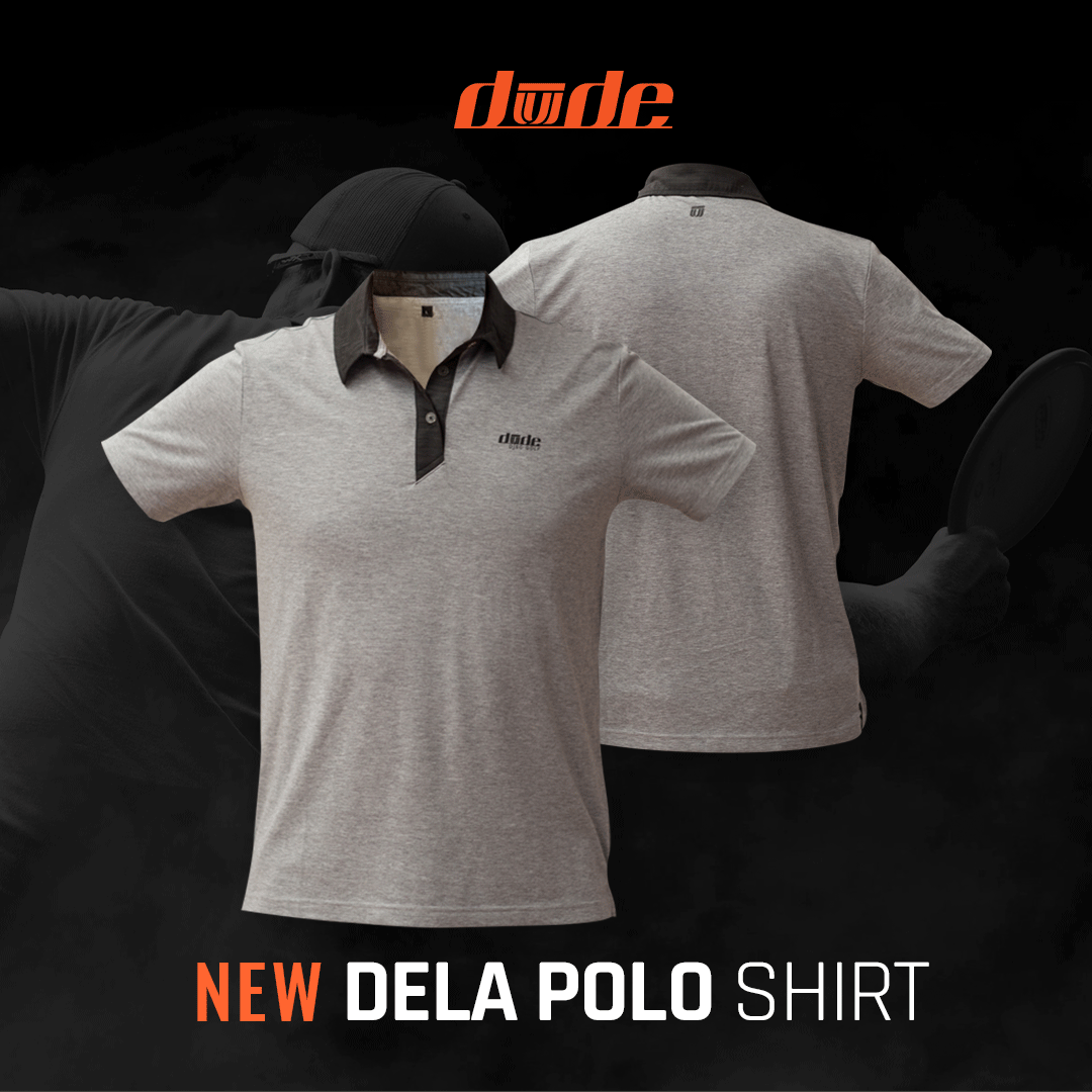 DUDE Clothing Mens DeLa Polo