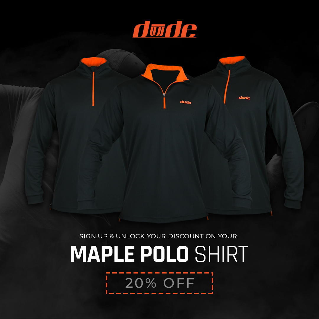 Dude Clothing Maple Polo Pre-Order